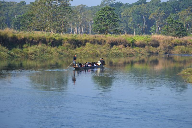 viajar-a-nepal-por-libre-selva-rio-Chitwan